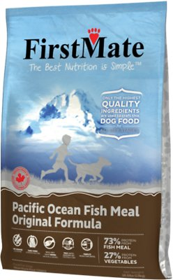 FirstMate Pacific Ocean Fish Meal Original Limited Ingredient Diet Grain-Free Dry Dog Food, 28.6-lb