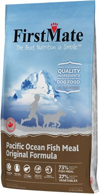 FirstMate Pacific Ocean Fish Meal Original Limited Ingredient Diet Grain-Free Dry Dog Food, 14.5-lb