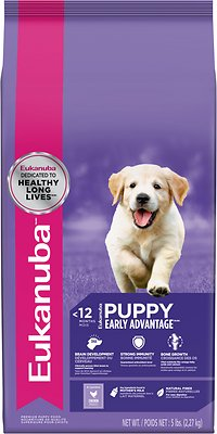 Eukanuba Puppy Chicken Formula Dry Dog Food, 5-lb