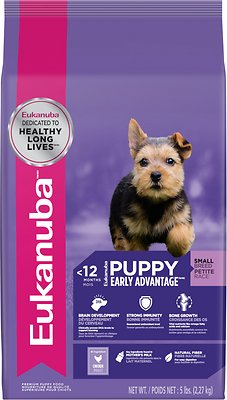 Eukanuba Small Breed Puppy Dry Dog Food, 5-lb