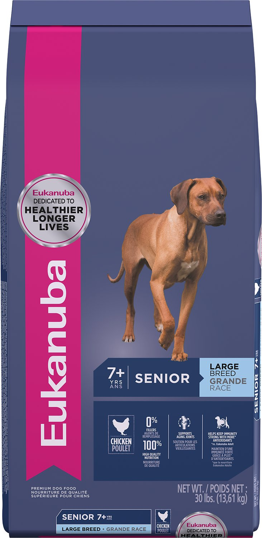 Eukanuba Large Breed Senior Dry Dog Food, 30-lb bag