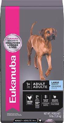 Eukanuba Large Breed Adult Dry Dog Food, 16-lb bag