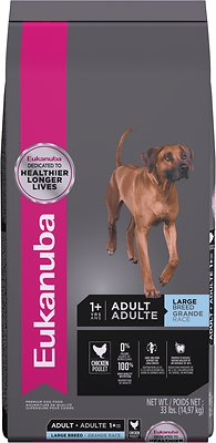 Eukanuba Large Breed Adult Dry Dog Food, 33-lb bag