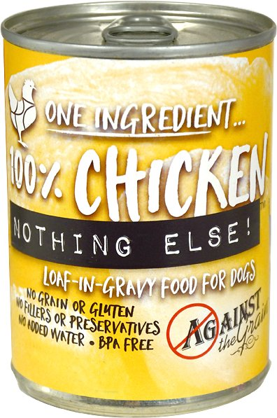 Against the Grain Nothing Else Chicken Grain-Free Canned Dog Food Image