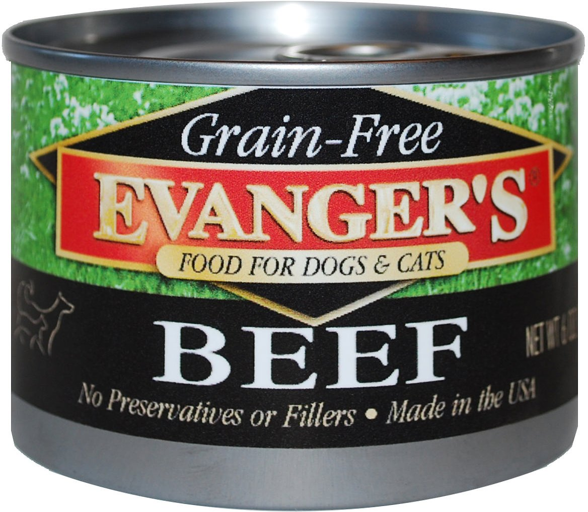 Evanger's Grain-Free Beef Canned Dog & Cat Food Image