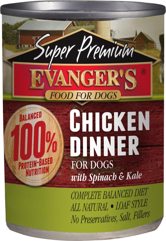 Evanger's Super Premium Chicken Dinner Grain-Free Canned Dog Food Image