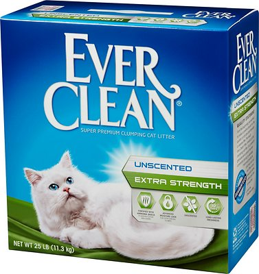 Ever Clean Extra Strength Unscented Premium Clumping Clay Cat Litter Image
