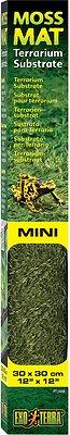 Exo Terra Moss Mat Terrarium Reptile Substrate, 12-in (Mini)