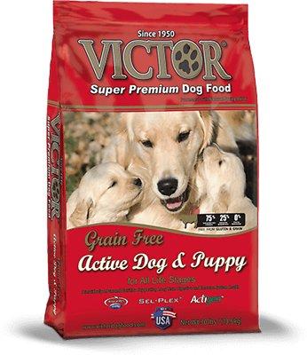 Victor Active Dog & Puppy Formula Grain-Free Dry Dog Food, 30-lb bag