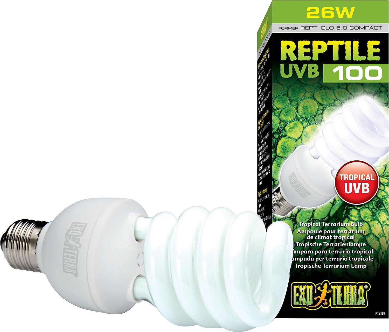 Exo Terra Tropical UVB 100 Reptile Lamp Image