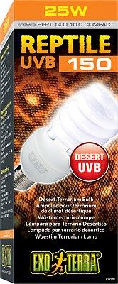 Exo Terra Desert UVB 150 Reptile Lamp, 26-w bulb