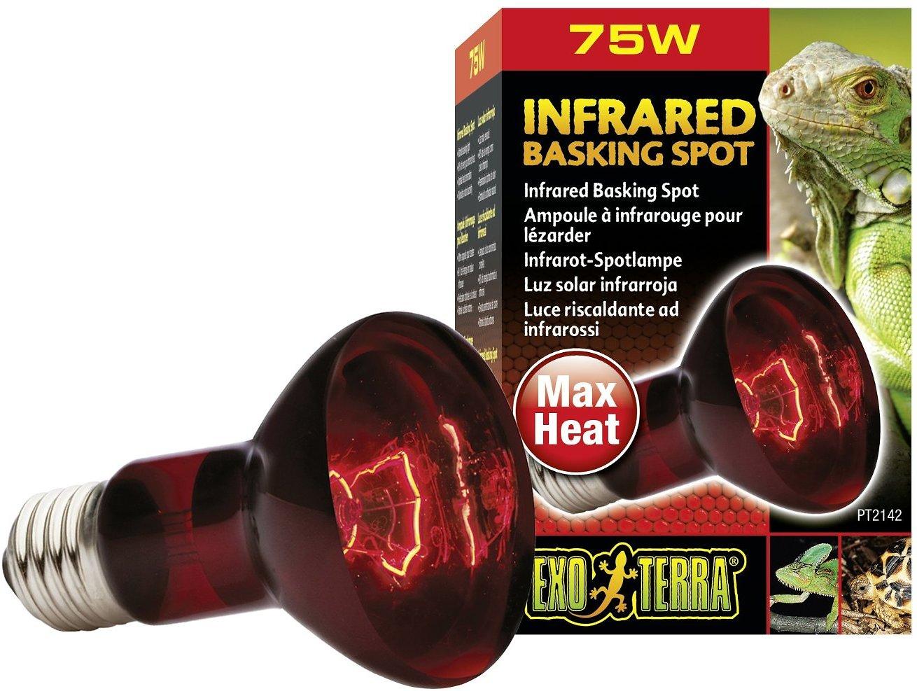 Exo Terra Infrared Basking Reptile Spot Lamp Image