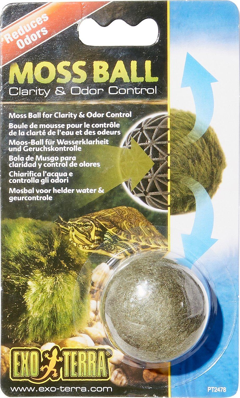 Exo Terra Clarity & Odor Control Moss Ball for Turtles