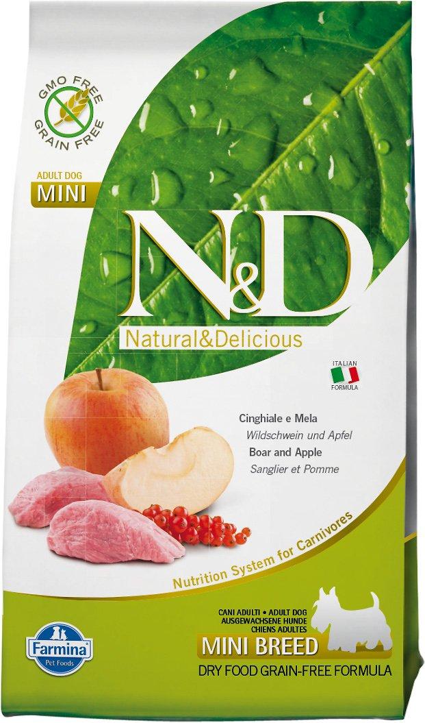 Farmina N&D Prime Wild Boar Mini Adult Dry Dog Food, 5.5-lb bag