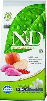 Farmina N&D Prime Wild Boar Dry Dog Food, 26.4-lb