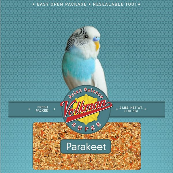 Volkman Avian Science Parakeet Food, 4-lb bag Image