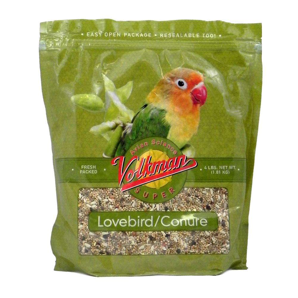 Volkman Avian Science Lovebird & Conure Food, 4-lb bag Image