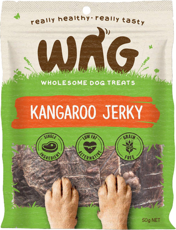 WAG Grain-Free Kangaroo Jerky Dog Treats Image