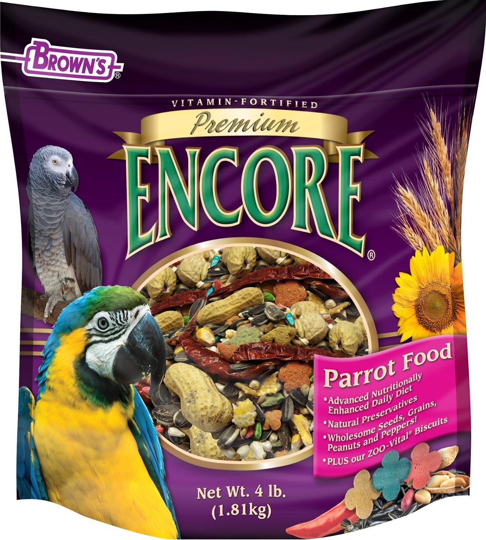 Brown's Encore Premium Parrot Bird Food Image