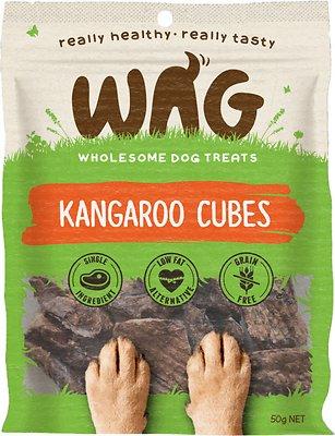 WAG Kangaroo Cubes Dog Treats, 50-grams