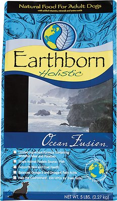 Earthborn Holistic Ocean Fusion Natural Dry Dog Food, 5-lbs