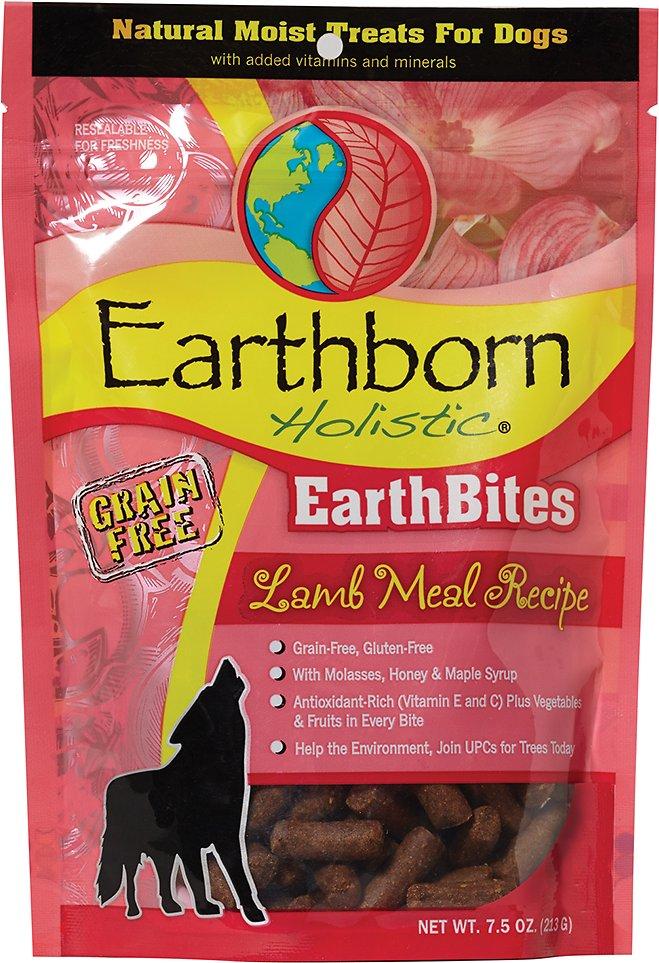Earthborn Holistic EarthBites Lamb Meal Recipe Natural Moist Treats For Dogs, 7.5-oz bag
