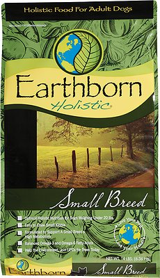 Earthborn Holistic Small Breed Natural Dry Dog Food, 12.5-lb bag