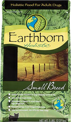 Earthborn Holistic Small Breed Natural Dry Dog Food, 4-lb