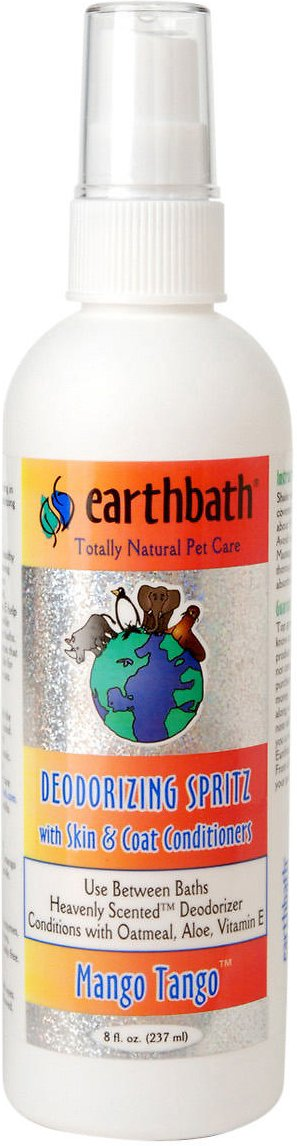 Earthbath Deodorizing Mango Tango Spritz for Dogs, 8-oz bottle
