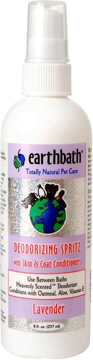 Earthbath Deodorizing Lavender Spritz for Dogs, 8-oz bottle Image
