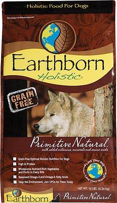 Earthborn Holistic Primitive Natural Grain-Free Natural Dry Dog Food, 12.5-lb bag