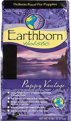Earthborn Holistic Puppy Vantage Natural Dry Dog Food, 4-lb