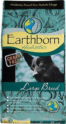 Earthborn Holistic Grain-Free Large Breed Dry Dog Food, 25-lb bag