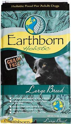 Earthborn Holistic Grain-Free Large Breed Dry Dog Food, 14-lb bag