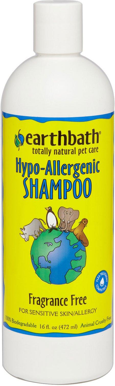 Earthbath Hypo-Allergenic Dog & Cat Shampoo, 16-oz bottle Image