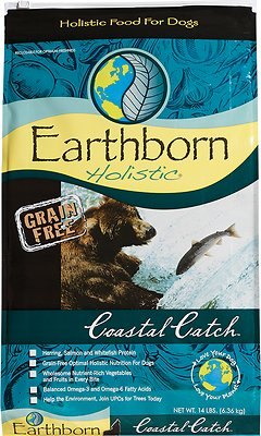 Earthborn Holistic Coastal Catch Grain-Free Natural Dry Dog Food, 12.5-lb bag