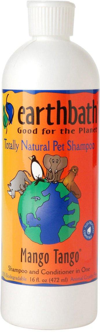Earthbath 2-in-1 Mango Tango Conditioning Dog & Cat Shampoo, 16-oz bottle Image