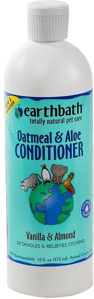 Earthbath Oatmeal & Aloe Dog & Cat Conditioner, 16oz