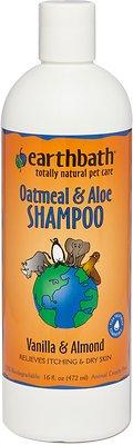 Earthbath Oatmeal & Aloe Dog & Cat Shampoo, 16-oz bottle