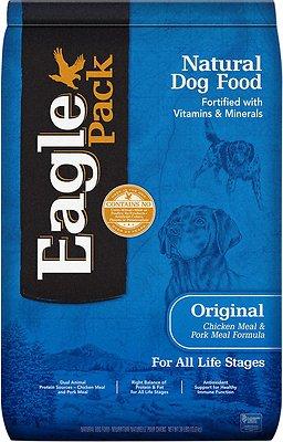 Eagle Pack Original Chicken & Pork Dry Dog Food, 30-lb