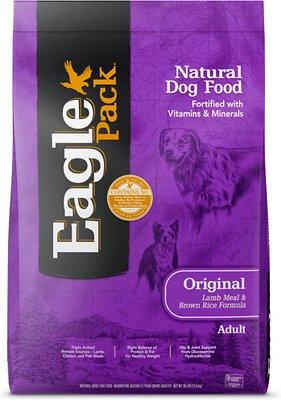 Eagle Pack Original Adult Lamb Meal & Brown Rice Formula Dry Dog Food, 30-lb bag