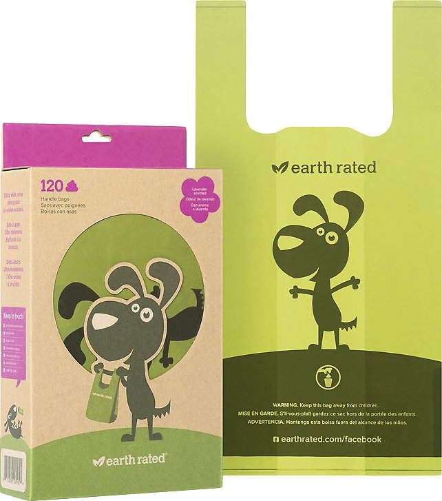 Earth Rated PoopBags Handle Bags, Scented Image