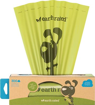 Earth Rated PoopBags Pantry Pack, 300 count, unscented