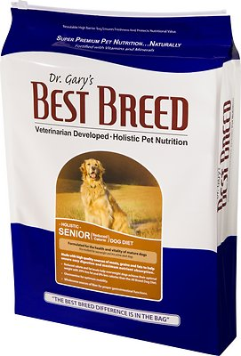 Dr. Gary's Best Breed Holistic Senior Reduced Calorie Dry Dog Food, 4-lb bag