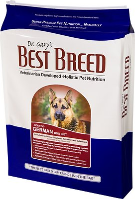 Dr. Gary's Best Breed Holistic German Dry Dog Food, 30-lb bag
