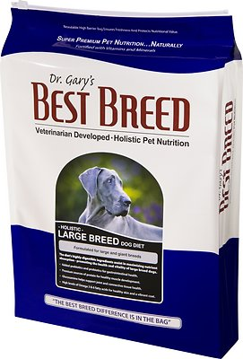 Dr. Gary's Best Breed Holistic Large Breed Dry Dog Food, 30-lb bag