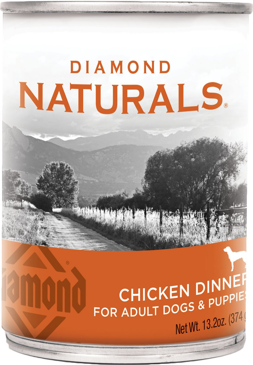 Diamond Naturals Chicken Dinner Adult & Puppy Canned Dog Food Image
