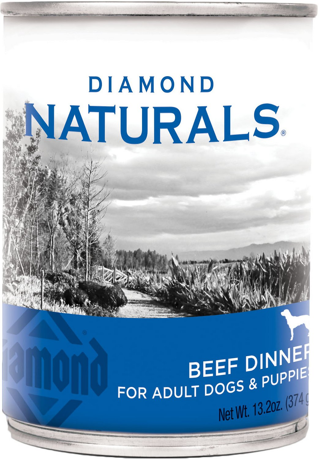 Diamond Naturals Beef Dinner Adult & Puppy Canned Dog Food Image