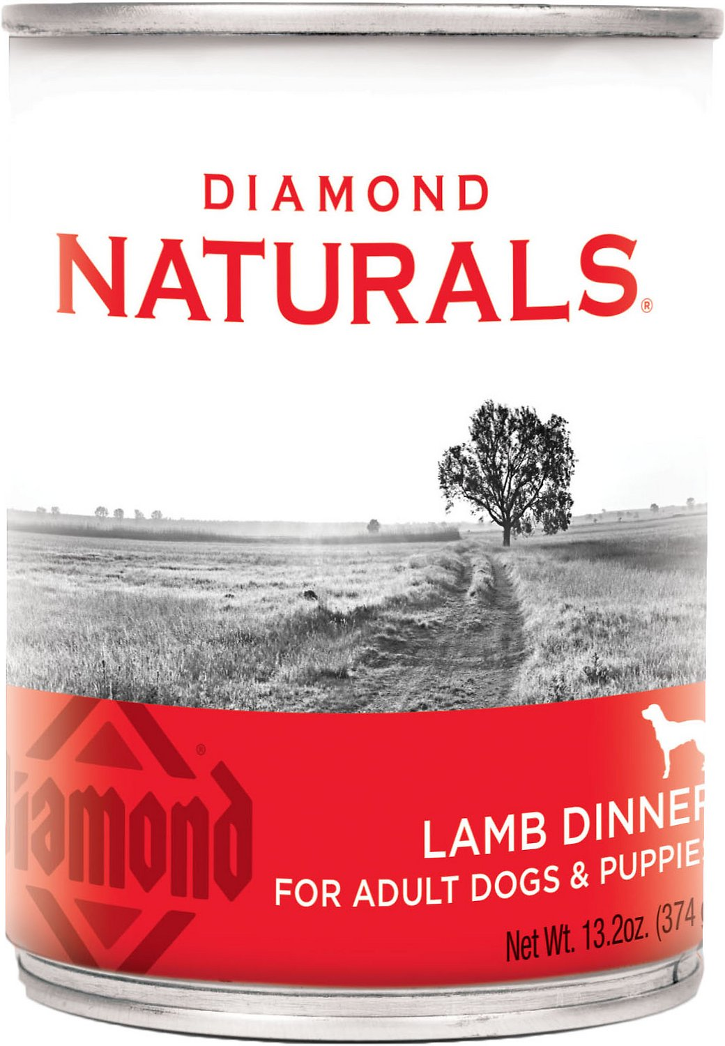 Diamond Naturals Lamb Dinner Adult & Puppy Canned Dog Food Image