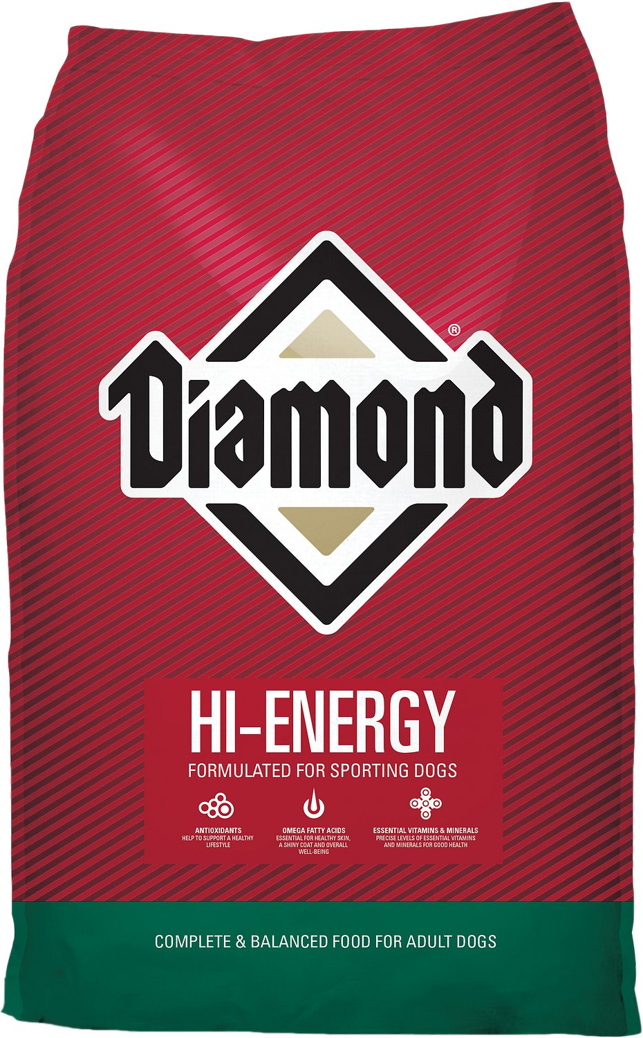 Diamond Hi-Energy Sporting Dog Formula Dry Dog Food, 50-lb bag (Weights: 50.0 pounds) Image